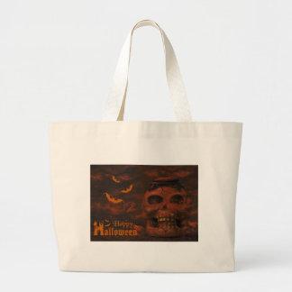 Halloween night jumbo tote bag