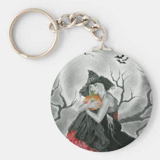 halloween night keychain