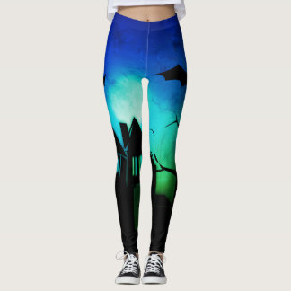 Halloween night leggings