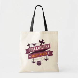 Halloween Night Party Tote Bag