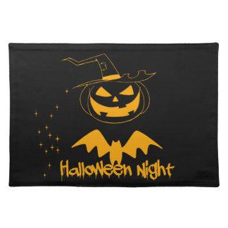 Halloween night placemat