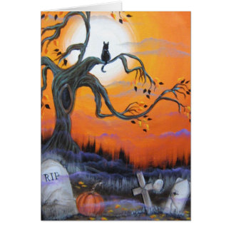 Halloween Night Products Greeting Card