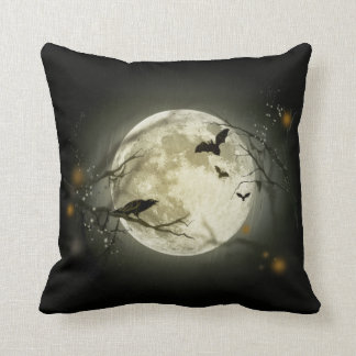 Halloween Night Throw Pillow