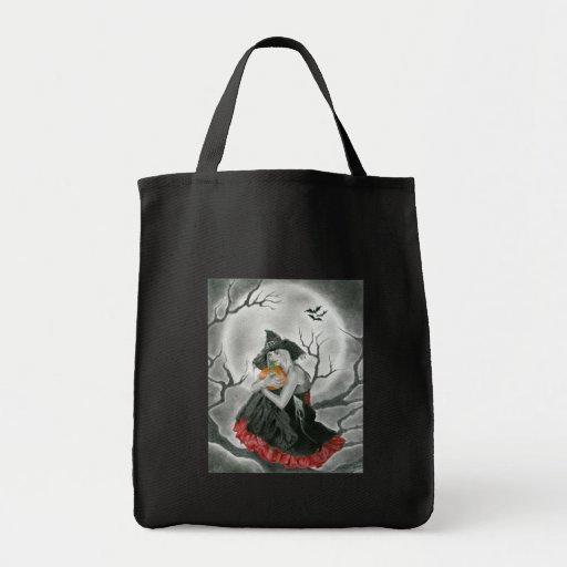 Halloween Night Witch Bag