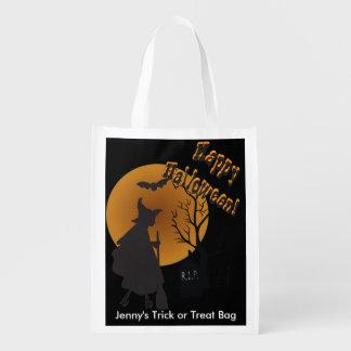 Halloween Night Witch Illustration