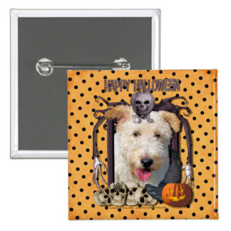 Halloween Nightmare - Wire Fox Terrier - Hailey Pin