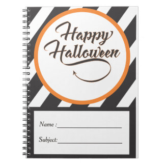 Halloween Note Book