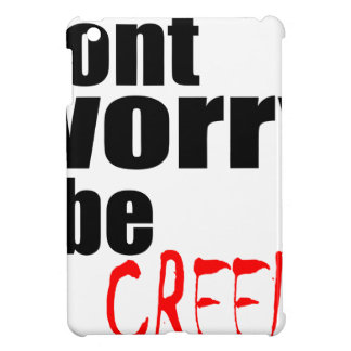 halloween october autumn dont worry creepy haunted cover for the iPad mini