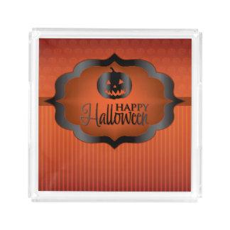 Halloween orange jack o'lantern