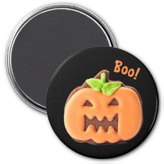 Halloween Orange Pumpkin Magnet