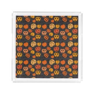 Halloween Orange Pumpkin Pattern