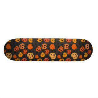 Halloween Orange Pumpkin Pattern 21.3 Cm Mini Skateboard Deck