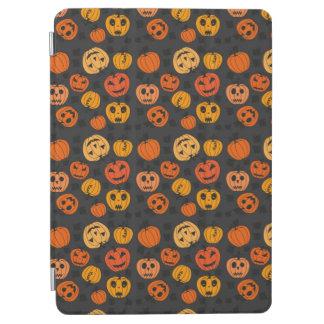 Halloween Orange Pumpkin Pattern iPad Air Cover