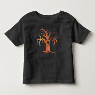 Halloween Orange Spooky Haunted Tree Costume Shirt
