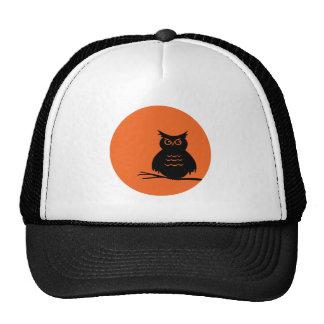 Halloween Owl Cap