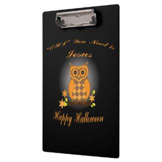 Halloween Owl Clipboard
