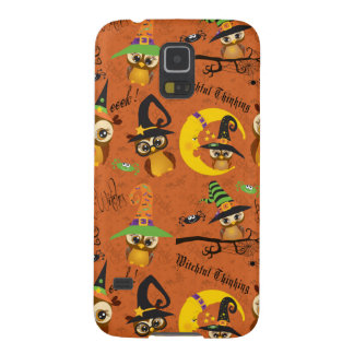 Halloween Owls 2 Cases For Galaxy S5