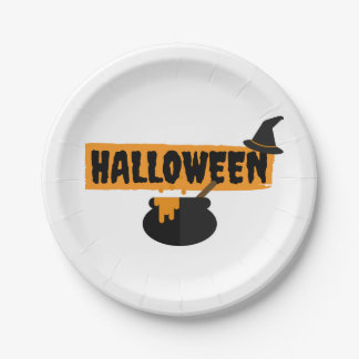 Halloween Paper Party Plates