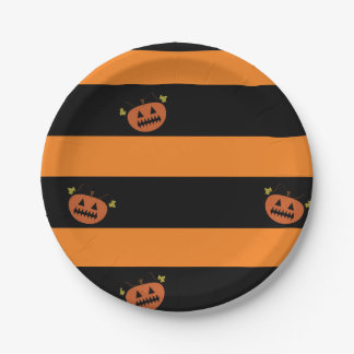 Halloween Paper plates 7 Inch Paper Plate