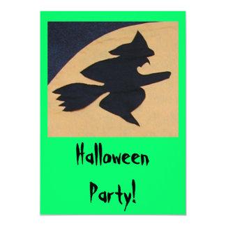 Halloween Party! 13 Cm X 18 Cm Invitation Card
