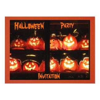 Halloween Party 17 Cm X 22 Cm Invitation Card