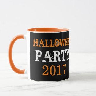 Halloween party 2017 mug