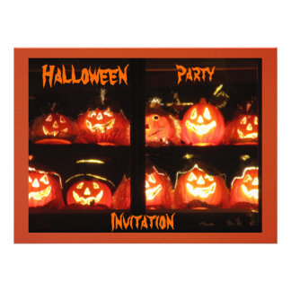 Halloween Party Custom Announcement