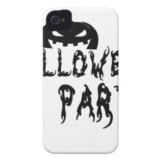 Halloween party design iPhone 4 cover