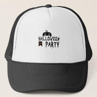 Halloween party design trucker hat