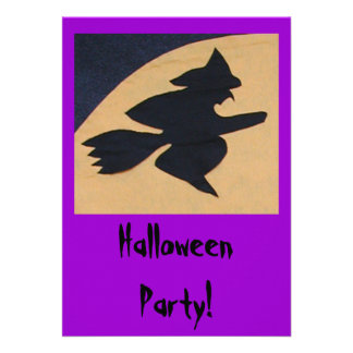 Halloween Party Personalized Announcement