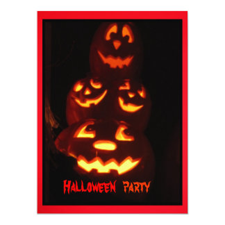 "Halloween Party Invitation 6.5"" X 8.75"" Invitation Card"