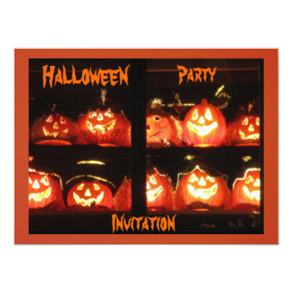 Halloween Party 6.5x8.75 Paper Invitation Card