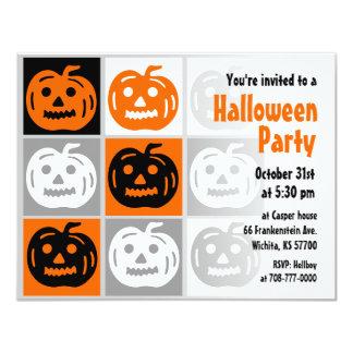Halloween Party Invitation Jack O Lantern 3