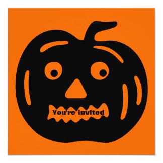 Halloween Party Invitation Jack O Lantern 6