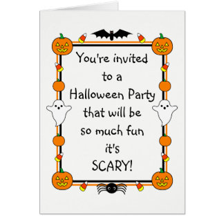 Halloween Party Invitations for Anyone