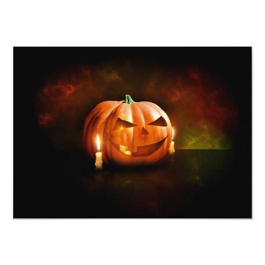 Halloween Party Invitations Jack o lanterns