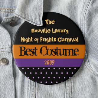 Halloween Party Prize 6 Cm Round Badge