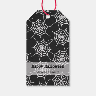Halloween party sets gift tags