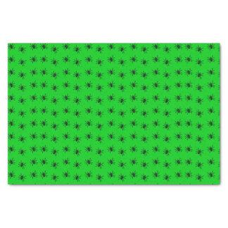 Halloween Party Tissue Paper Spider Pattern