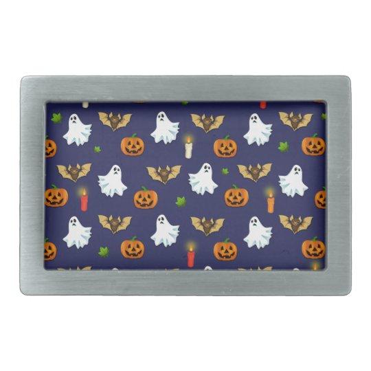 Halloween pattern belt buckle