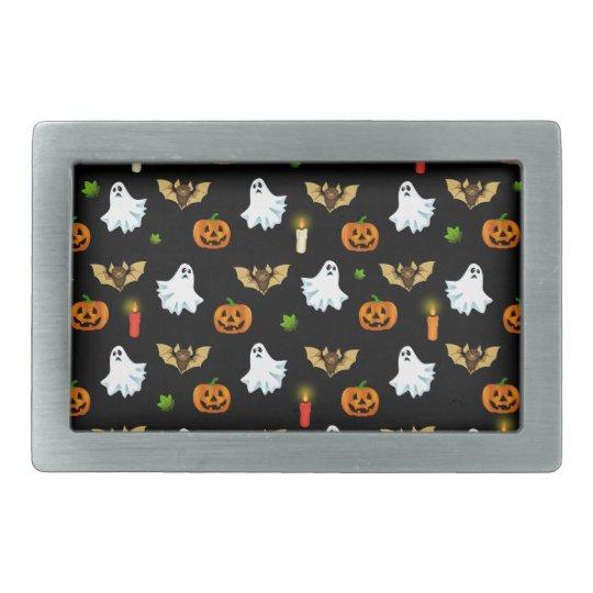 Halloween pattern belt buckles
