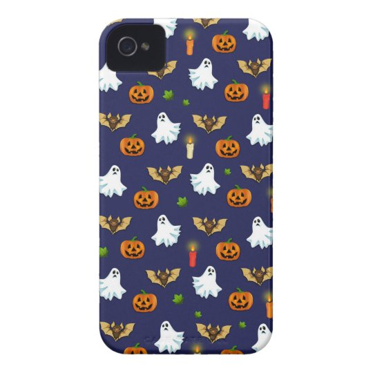 Halloween pattern Case-Mate iPhone 4 cases