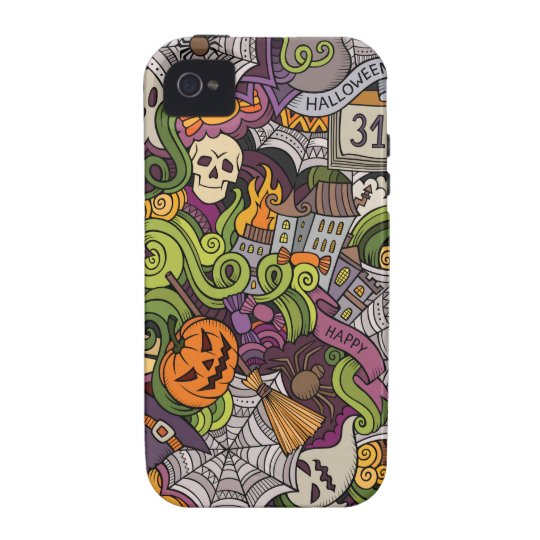 Halloween pattern Case-Mate iPhone 4 cover