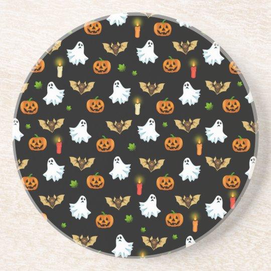 Halloween pattern coaster