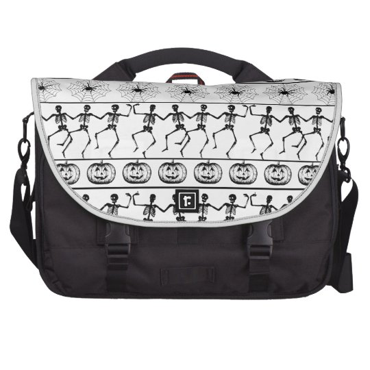 Halloween pattern commuter bags
