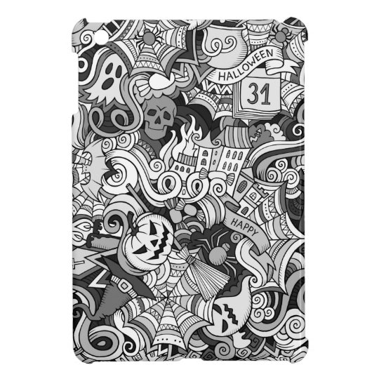 Halloween pattern cover for the iPad mini
