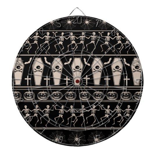 Halloween pattern dartboard
