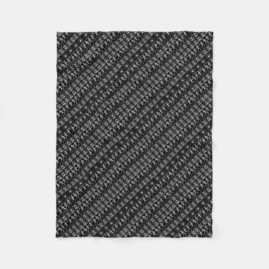 Halloween pattern fleece blanket