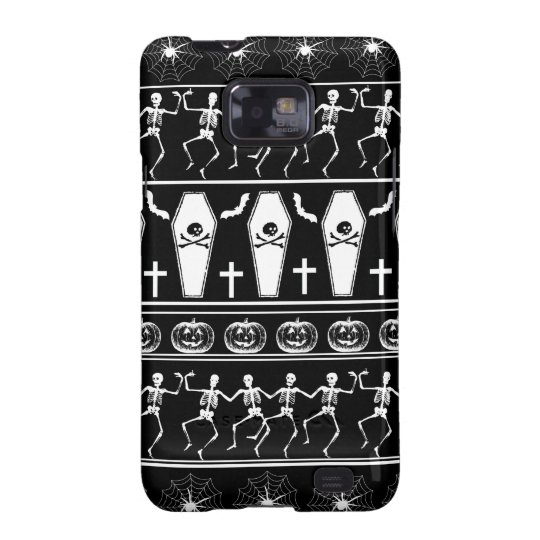 Halloween pattern galaxy s2 cover