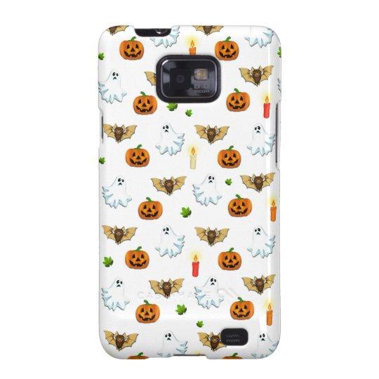 Halloween pattern galaxy SII case